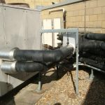 insulation and pipework