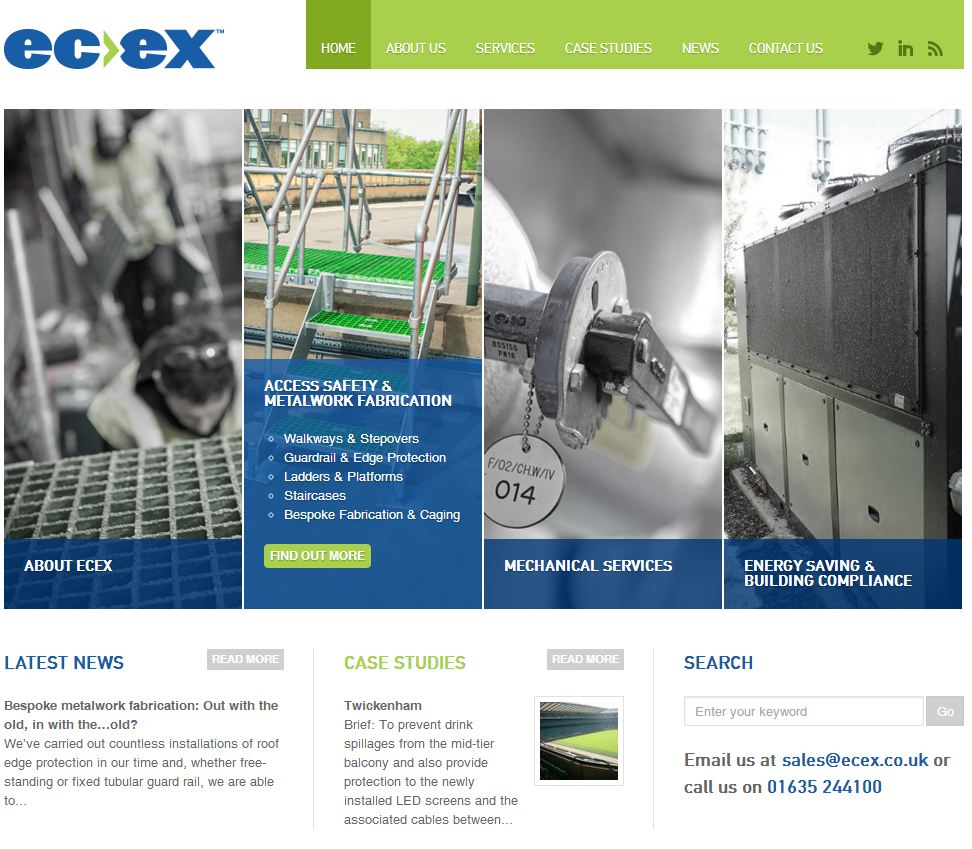 ecex_homepage_screenshot