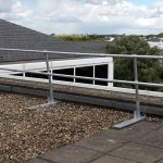 sg4, guard rail, roof edge protection, fall prevention