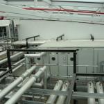 Internal plant room