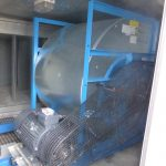 AHU extract fan after refurbishment