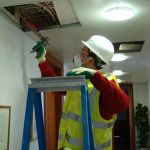 ECEX Fire Stopping operative