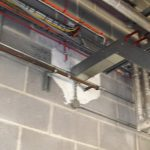 Fire Stopping around trunking